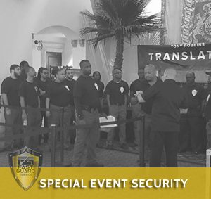 tony robbins special event security
