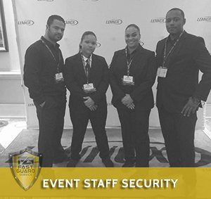 event staff security services